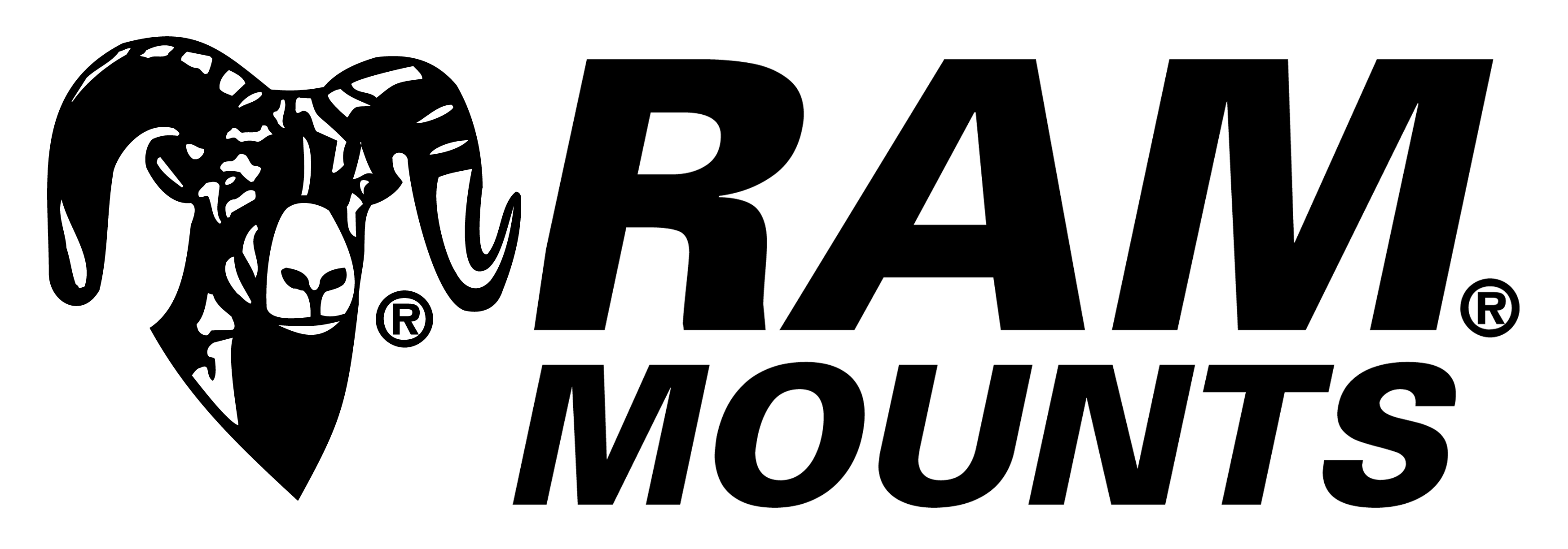 RAM Logo Black